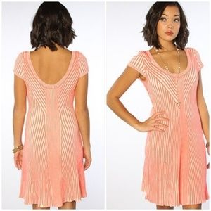 Free People Hot Off The Press Ribbed Sweater Dress